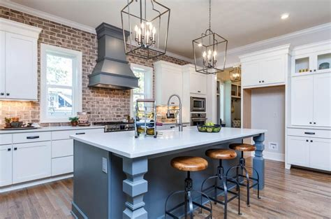new trends in kitchen design new home construction design trends courtesy of homes by 7105
