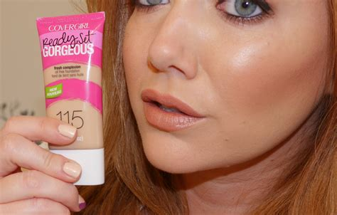 "Covergirl Katy Perry's ""ready, Set, Gorgeous"" Foundation"