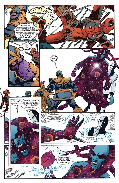 Deadpool Vs Thanos 4 [español]  Comics E Historietas