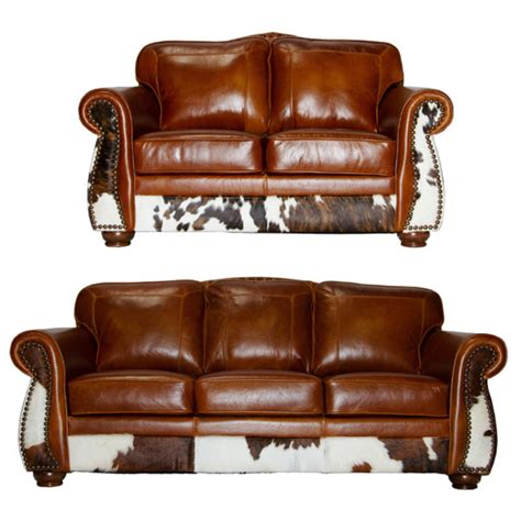Rustic Leather Loveseat by Rustic Sofa And Loveseat Western Loveseat Rustic Thesofa