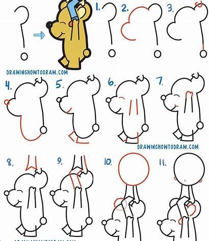 Draw Step Easy Drawing Cartoon Beginners Boy