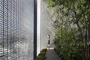 Glass House 2 : a garden enclosed by 6000 glass blocks optical glass house by hiroshi nakamura spoon tamago ~ Orissabook.com Haus und Dekorationen
