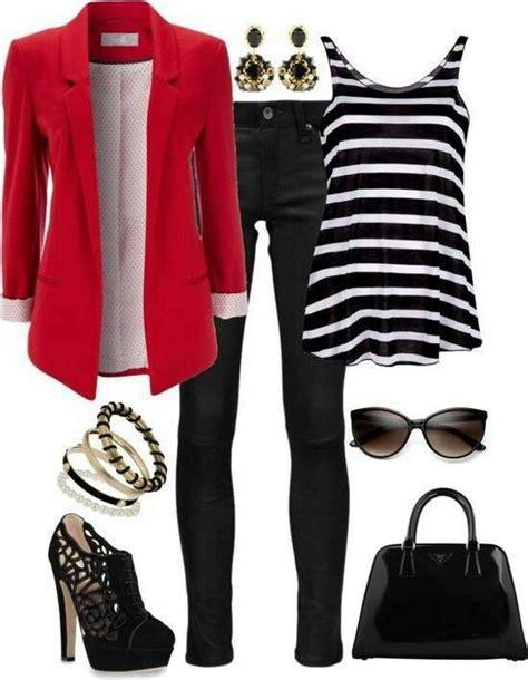 Look con blazer rojo!   outfits oficina   Pinterest   Blazers