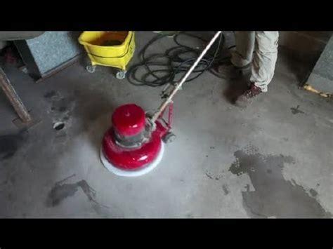 How to Clean & Seal Concrete Floors : Concrete Floors