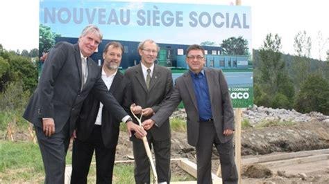 cfe siege social nouveau siège social de groupe coopératif dynaco