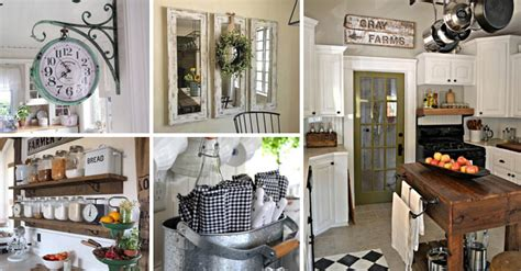 diy country kitchen decor top 29 diy ideas adding rustic farmhouse feels to kitchen 6806