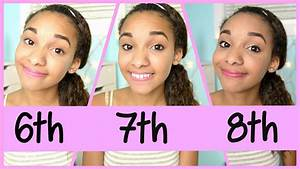Middle School Makeup: 6th, 7th & 8th Grade! YouTube