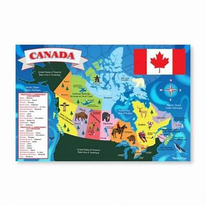 Puzzles Puzzle Canada Isolation Keep Pieces Map