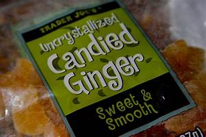 Uncrystallized Candied Ginger - Shutterbean