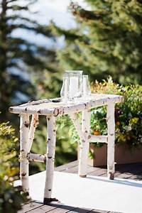 Aspen, Tree, Table, Alter, Decor