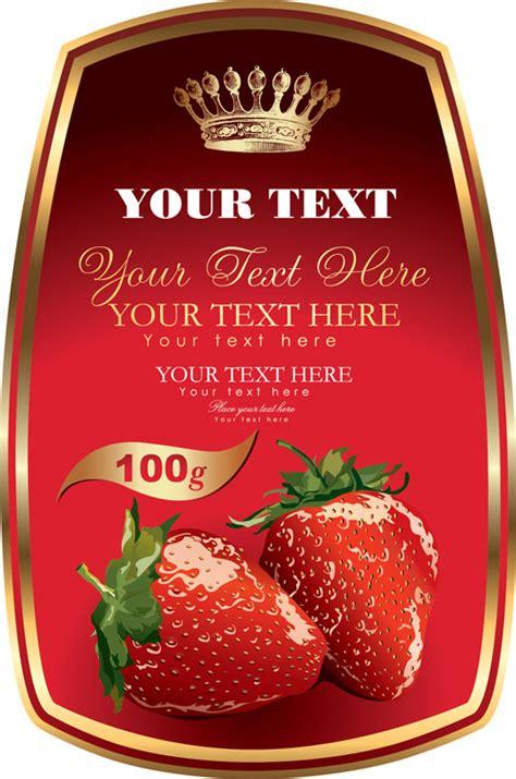 label template  fruit ai svg eps vector