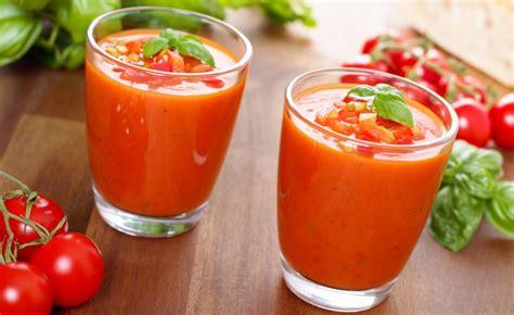 recette cuisine gaspacho espagnol recette de gaspacho andalou