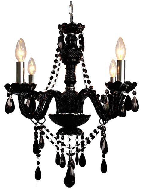 Murano Venetian Style All Chandelier by Jet Black Murano Venetian Style All Mini