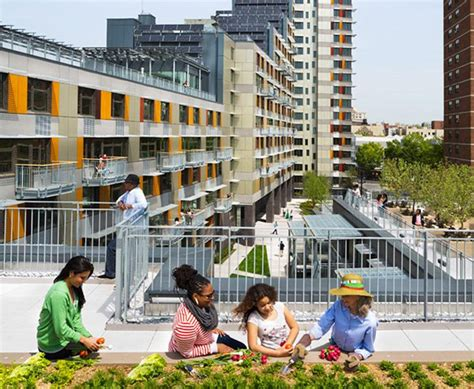 Green, Affordable Housing In Nyc Via Verde Shows The Way