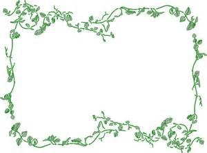 Floral Borders Free Clip Art