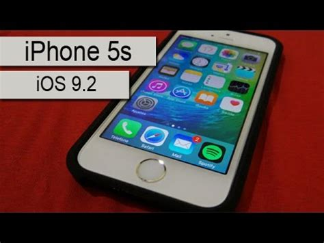 iphone 5s test iphone 5s ios 9 2 speed test pt br