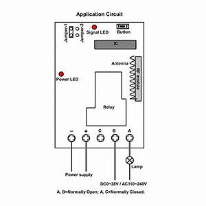 Wireless High Power Remote Switches On Or Off A 30a Relay