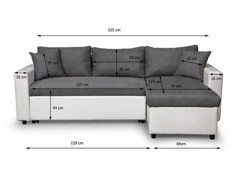 canapé d angle compact canapé d 39 angle réversible et convertible avec coffre gris
