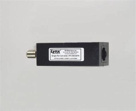 lynx television distribution system digital analog tv