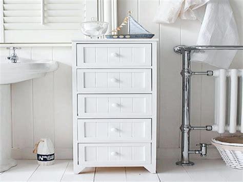 Black Bathroom Storage Drawers Small Cabinet   Solid