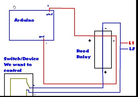 Can Use Reed Relay Instead Switch With