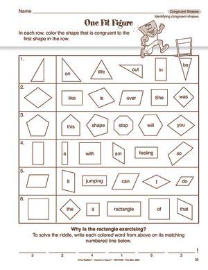 similar and congruent figures worksheets worksheets for