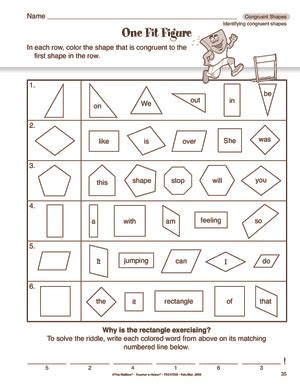 Congruent And Similar Shapes Worksheets Worksheets For All  Download And Share Worksheets