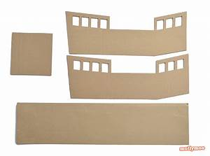 mollymoocrafts diy cardboard pirate ship craft tutorial With cardboard pirate ship template