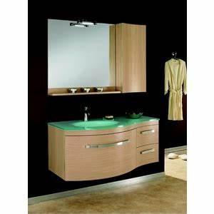 meuble vasque verre salle de bain With ou trouver des meubles de salle de bain