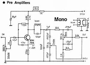 audio preamp circuit diagrams circuit schematics With high quality mono audio amplifier circuit this amplifier is built on