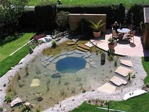 Badeteich Im Garten : einen badeteich f r den kommenden sommer ~ Markanthonyermac.com Haus und Dekorationen