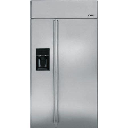 ge monogram  side  side refrigerator zissdxss