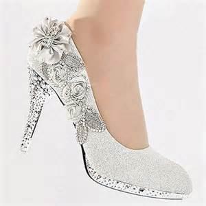 escarpins mariage femme chaussures mariage escarpins strass cristal fleur talon haut stilettos talons aiguilles