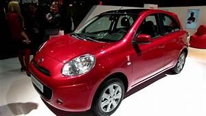 Nissan Micra 2012 : 2013 nissan micra exterior and interior wakaround 2012 paris auto show youtube ~ Medecine-chirurgie-esthetiques.com Avis de Voitures