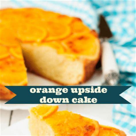 chew chef carla halls ginger orange upside  cake