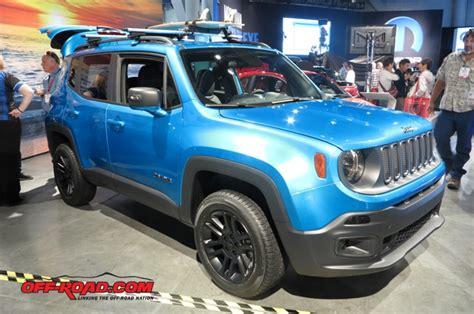 Jeep Renegade Modification by Sema 2015 Jeep Renegade Riptide Concept Road