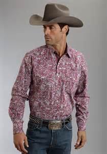 Men's Western Pearl Snap Shirts