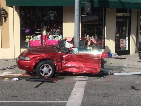 updated pasadena crash splits car   killing