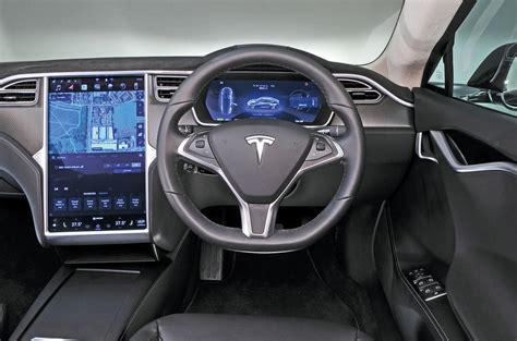 tesla model s interior tesla model s review 2017 autocar
