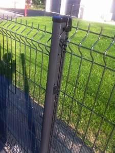 Grillage Rigide Gris Anthracite : panneau grillage rigide gris taille haie tracteur occasion ~ Dailycaller-alerts.com Idées de Décoration