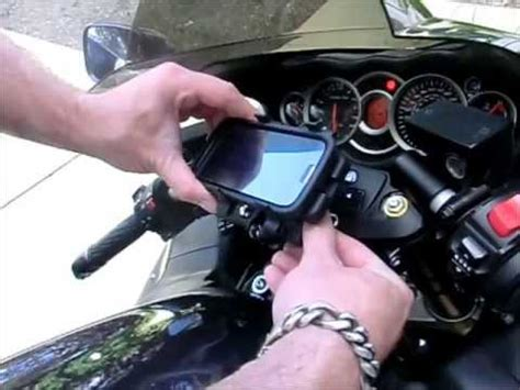 cell phone mount for motorcycle motorcycle ram stem mount installation for cell phone or