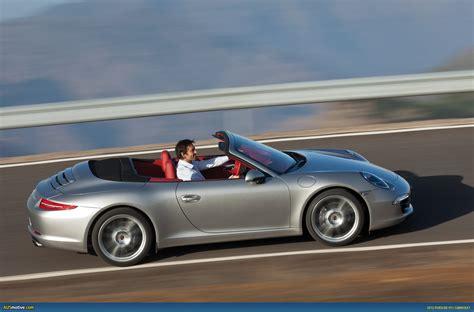 gold porsche convertible ausmotive com 2012 porsche 911 carrera cabriolet revealed
