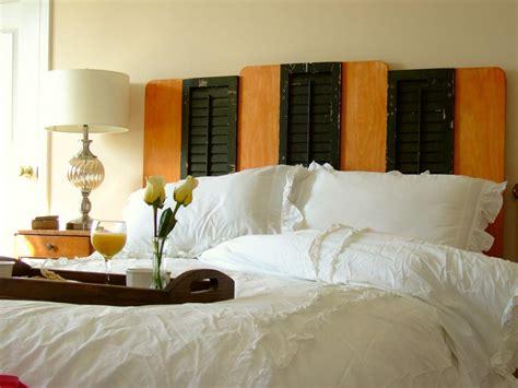 diy reclaimed shutter bedroom headboard  tos diy