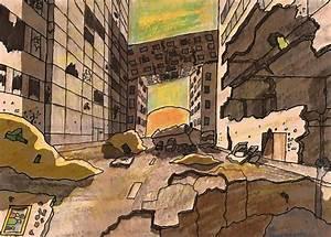 Destroyed City by SCHlNK3N on DeviantArt