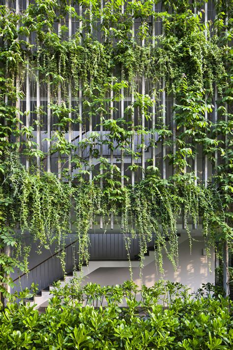 rice paper l a green oasis the babylon by vo trong nghia architects
