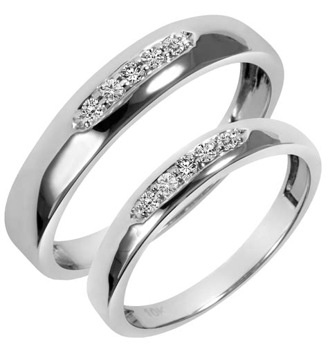 collection cheap wedding band sets his and hers matvuk com