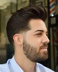 Cheveux En Arrière Homme : top 100 coiffures en d grad coupe de cheveux homme ~ Dallasstarsshop.com Idées de Décoration