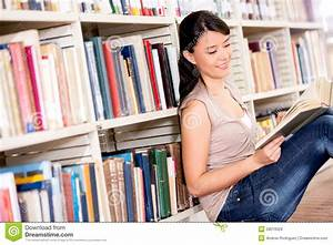 Woman At The Library Royalty Free Stock Images - Image ...