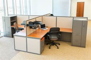 Standing Conference Table by Custom Office Cubicles Designed To Fit Your Office Setting