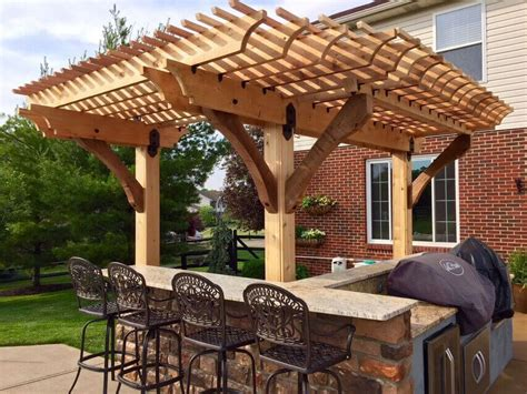 house plans with outdoor living pergola ideas for small patios to maximum use of